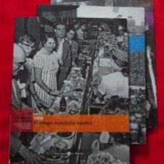 Libros de segunda mano: EL FRANQUISMO AÑO A AÑO- COMPLETA 37 TOMOS - HISTORIA ESPAÑA EL MUNDO - MJUS. Lote 182037056