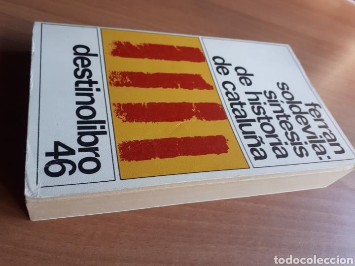 Libros de segunda mano: SÍNTESIS DE HISTORIA DE CATALUÑA. FERRAN SOLDEVILA - Foto 3 - 182082548