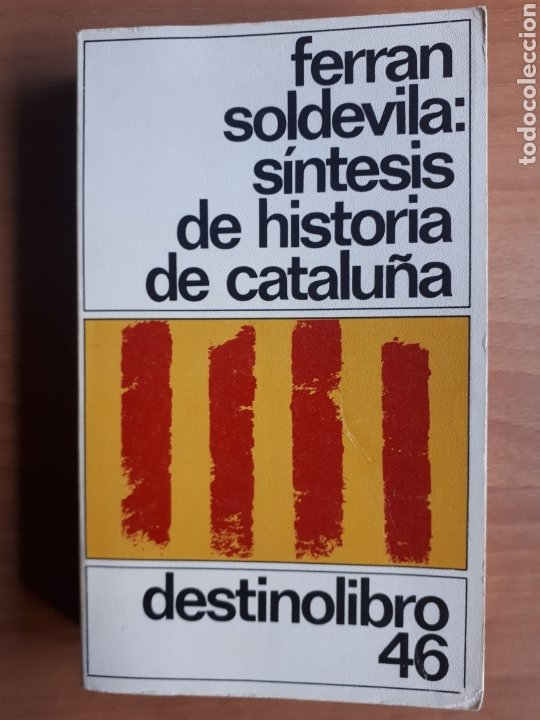 SÍNTESIS DE HISTORIA DE CATALUÑA. FERRAN SOLDEVILA (Libros de Segunda Mano - Historia - Otros)
