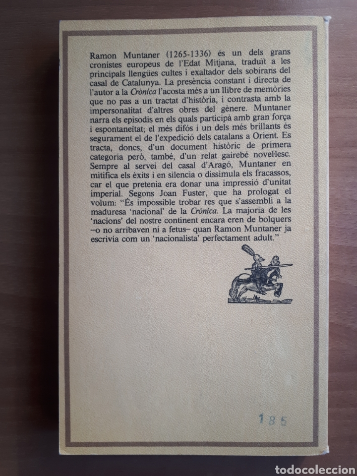 Libros de segunda mano: CRÒNICA DE RAMON MUNTANER. VOLUMS I i II - Foto 3 - 182082977