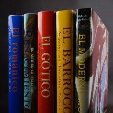 Libros de segunda mano: COLECCIÓN DE LIBROS DE ARTE KONEMANN. CINCO VOLÚMENES.. Lote 204357810