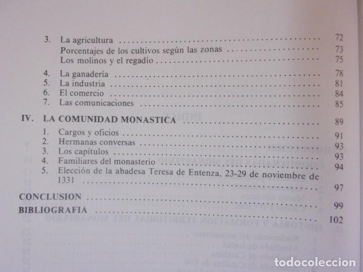 Libros de segunda mano: EL MONASTERIO CISTERCIENSE DE SANTA MARÍA DE CASBAS( 1173-1350) / LOURDES ASCASO SARVISE - Foto 3 - 182113261