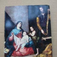 Libros de segunda mano: COLECCIÓN GRANDES PINTORES: RIBERA-FRANCISCO POMPEY-1963-EDICIONES DE ARTE OFFO. Lote 182114915