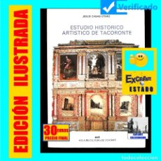 Libros de segunda mano: ESTUDIO HISTÓRICO ARTÍSTICO DE TACORONTE JESÚS CASAS OTERO - TENERIFE - ACT - ILUSTRADO - EXCELENTE. Lote 182133206