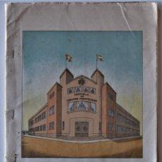 Libros de segunda mano: ESCUELAS DE PERITOS INDUSTRIALES Y DE TRABAJO DE GIJÓN - MEMORIA DESCRIPTIVA CURSO 1954-1955. Lote 182197250