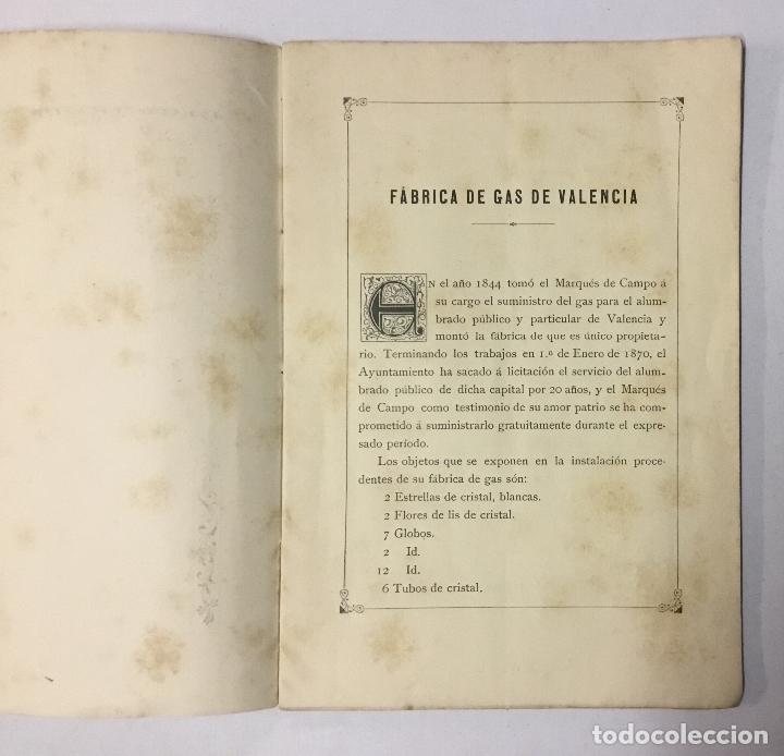 Libros de segunda mano: Exposición Universal de Barcelona. INSTALACIONES DEL EXCMO. SR. MARQUÉS DE CAMPO. - [Catálogo.] - Foto 2 - 123264623
