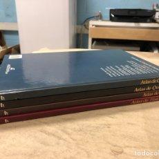 Libros de segunda mano: COLECCIÓN DE ATLAS DE CIENCIAS. LOTE DE 4 TOMOS: GEOLOGÍA, QUÍMICA, FÍSICA Y FISIOLOGÍA. EDIBOOK. Lote 182213803