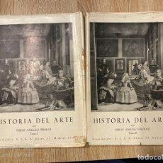 Libros de segunda mano: HISTORIA DEL ARTE. TOMO I Y II. DIEGO ANGULO. MADRID, 1967. PAGS: 459+484. . Lote 182218806