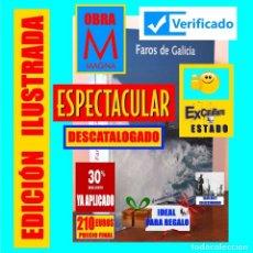 Libros de segunda mano: FAROS DE GALICIA HISTORIA Y CONSTRUCCIÓN DE LAS SEÑALES LUMINOSAS EN UN FINISTERRE ATLÁNTICO - 210 €. Lote 180431268