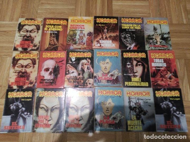 COLECCIÓN MINI LIBROS HORROR (Libros de Segunda Mano (posteriores a 1936) - Literatura - Otros)