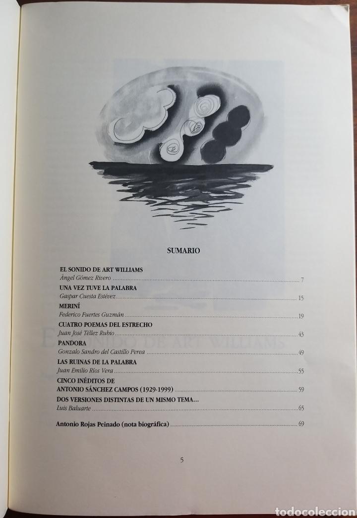 Libros de segunda mano: REVISTA ALMORAIMA 26 OCTUBRE 2001. SUPLEMENTO CREACIÓN LITERARIA ARTÍSTICA. CÁDIZ CAMPO DE GIBRALTAR - Foto 2 - 182312723