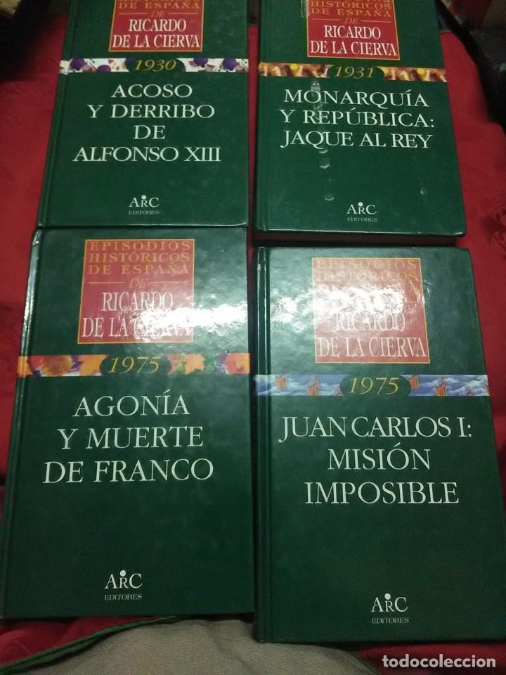 (LOTE DE 4). EPISODIOS HISTÓRICOS DE ESPAÑA. RICARDO DE LA CIERVA. NN. 1, 2, 3 Y 4. (Libros de Segunda Mano - Historia - Otros)