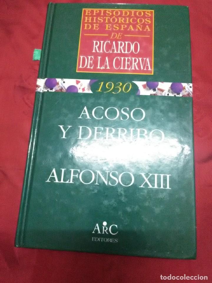 Libros de segunda mano: (Lote de 4). Episodios Históricos de España. Ricardo de la Cierva. Nn. 1, 2, 3 y 4. - Foto 2 - 182321561