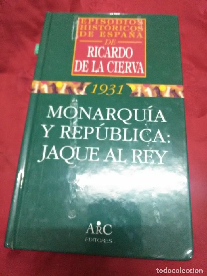 Libros de segunda mano: (Lote de 4). Episodios Históricos de España. Ricardo de la Cierva. Nn. 1, 2, 3 y 4. - Foto 3 - 182321561