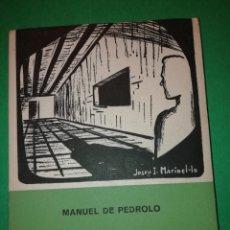 Libros de segunda mano: MISTER CHASE,PODEU SORTIR DE MANUEL DE PEDROLO 1ª EDICIÒ ANY 1955. Lote 182323392