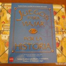 Libros de segunda mano: JUEGOS PARA VIAJAR POR LA HISTORIA - PAT KELLEHER Y CLINT TWIST - EDICIONES SM, 1ª EDICIÓN, 2007.. Lote 182368700