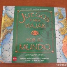 Libros de segunda mano: JUEGOS PARA VIAJAR POR EL MUNDO - PAT KELLEHER Y CLINT TWIST - EDICIONES SM, 1ª EDICIÓN, 2007.. Lote 182370482