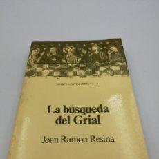 Libros de segunda mano: LA BÚSQUEDA DEL GRIAL. Lote 182375595