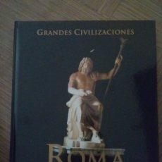 Libros de segunda mano: GRANDES CIVILIZACIONES. ROMA EL ORIGEN DE OCCIDENTE. Lote 182429422