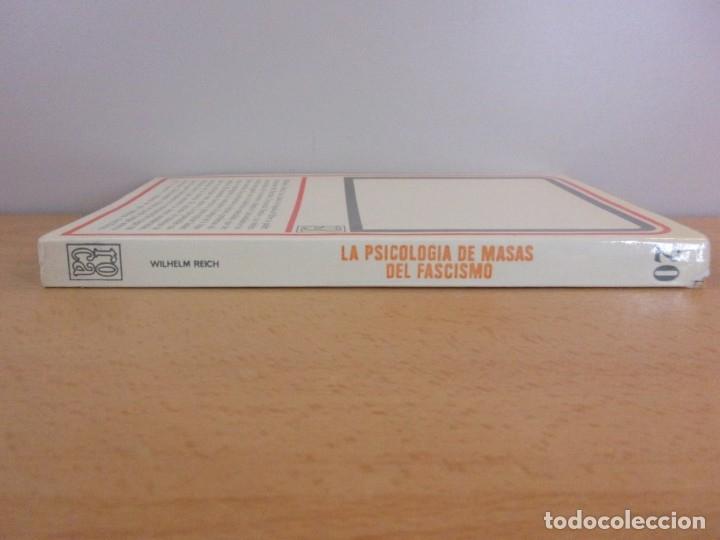Libros de segunda mano: LA PSICOLOGÍA DEL FASCISMO / WILHELM REICH / 1ª EDICIÓN 1973. EDICIONES ROCA, MEXICO - Foto 4 - 182444190