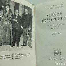 Libros de segunda mano: OBRAS COMPLETAS POR JACINTO BENAVENTE TOMO VIII - EDICION AGUILAR AÑO 1962. Lote 182471610