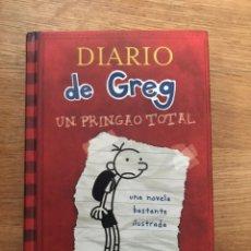 Libros de segunda mano: DIARIO DE GREG UN PRINGAO TOTAL JEFF KINNEY. Lote 182502053