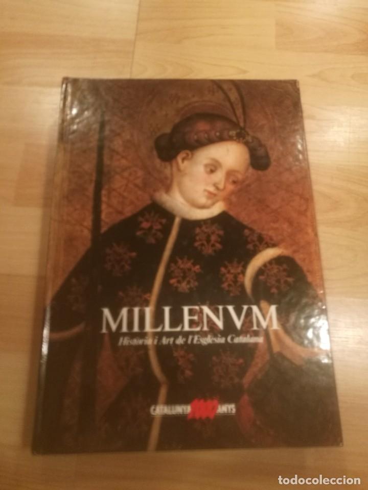 'MILLENVM. HISTÒRIA I ART DE L'ESGLÉSIA CATALANA' (Libros de Segunda Mano - Bellas artes, ocio y coleccionismo - Otros)