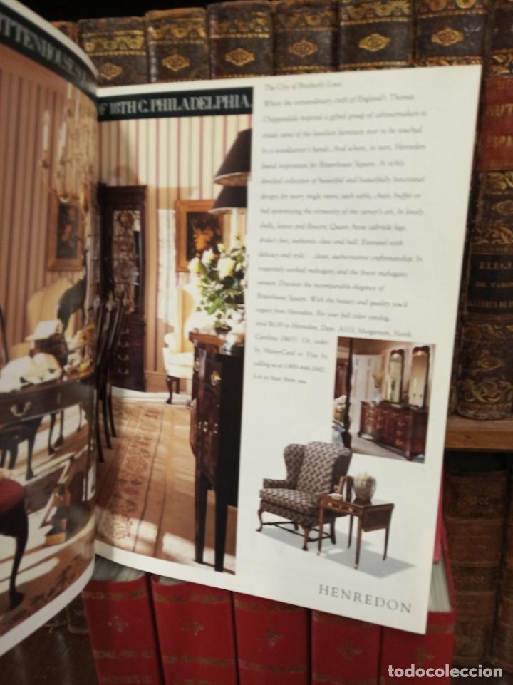 Libros de segunda mano: Colección de revistas encuadernadas. Architectural digest. Años 80-90. 6 tomos. 24 revistas. - Foto 4 - 182608573