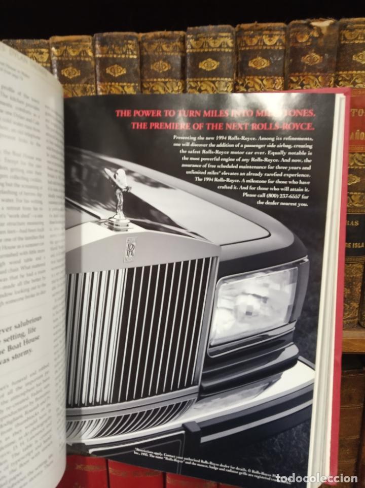 Libros de segunda mano: Colección de revistas encuadernadas. Architectural digest. Años 80-90. 6 tomos. 24 revistas. - Foto 7 - 182608573