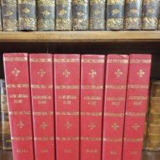 Libros de segunda mano: COLECCIÓN DE REVISTAS ENCUADERNADAS. ARCHITECTURAL DIGEST. AÑOS 80-90. 6 TOMOS. 24 REVISTAS. . Lote 182608573