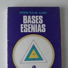 Libros de segunda mano: BASES ESENIAS - OREB RAJA-AARI. Lote 182624155