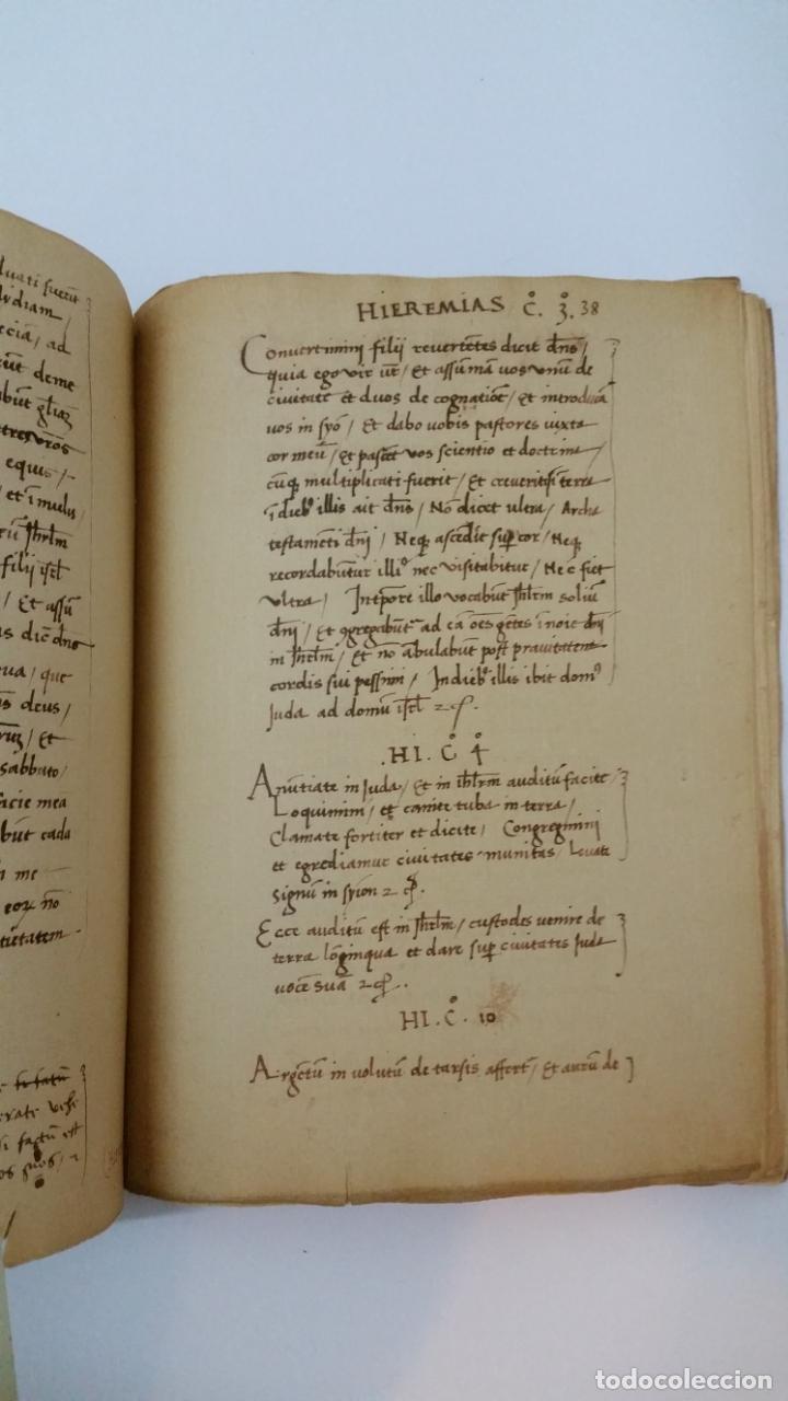 Libros de segunda mano: 1984 - COLÓN - LIBRO DE LAS PROFECÍAS - Facsímil del manuscrito de la Biblioteca Capitular Colombina - Foto 8 - 182628481