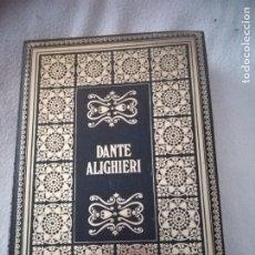Libros de segunda mano: BIBLIOTECA DE LOS GRANDES CLASICOS. DANTE ALIGHIERI. LA DIVINA COMEDIA. 1969. BARCELONA. 451 PAG. Lote 182632053