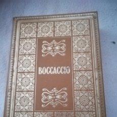 Libros de segunda mano: BIBLIOTECA DE LOS GRANDES CLASICOS. GIOVANNI BOCCACCIO. DECAMERON. 1967. BARCELONA. 755 PAG. Lote 182632537