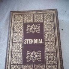 Libros de segunda mano: BIBLIOTECA DE LOS GRANDES CLASICOS. STENDHAL. ROJO Y NEGRO / LA CARTUJA DE PARMA. 1969. BARCELONA. Lote 182632673