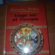 Libros de segunda mano: VIAJE EN EL TIEMPO GERÓNIMO STILTON. Lote 182663465