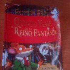 Libros de segunda mano: QUINTO VIAJE AL REINO DE LA FANTASÍA GERONIMO STILTON. Lote 182664460