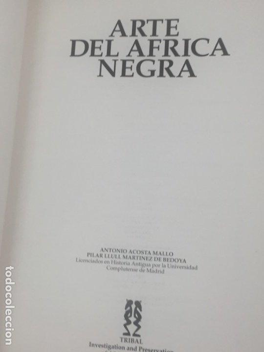 Libros de segunda mano: ARTE DEL ÁFRICA NEGRA. Colección Glendonwyn, Acosta Mallo Llull Martinez, Tribal 1992 - Foto 4 - 182669685