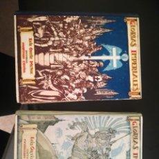 Libros de segunda mano: GLORIAS IMPERIALES, TOMOS I Y II. Lote 182707938
