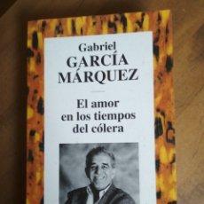 Libros de segunda mano: GABRIEL GARCÍA MÁRQUEZ - EL AMOR EN LOS TIEMPOS DEL CÓLERA RBA Nº 9. Lote 182726033
