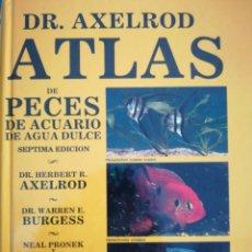 Libros de segunda mano: ATLAS DE PECES DE ACUARIO DE AGUA DULCE. Lote 182751921