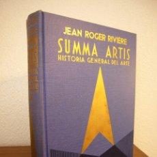 Libros de segunda mano: SUMMA ARTIS VOL. XX: EL ARTE DE LA CHINA (ESPASA-CALPE, 1966) PRIMERA EDICIÓN. Lote 182785023