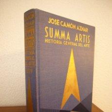 Libros de segunda mano: SUMMA ARTIS, VOL. XXV: LA PINTURA ESPAÑOLA DEL SIGLO XVII (ESPASA-CALPE, 1977) PRIMERA EDICIÓN. Lote 182787833