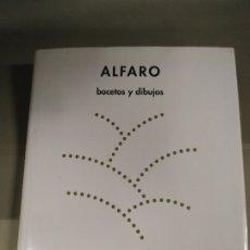 Libros de segunda mano: BOCETOS Y DIBUJOS - ALFARO. MUSEO CASA DE LA MONEDA. Lote 182821631