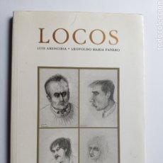 Libri di seconda mano: LITERATURA ENSAYO . LOCOS . LUIS ARENCIBIA LEOPOLDO MARÍA PANERO . EDICIONES GASSET 1992. Lote 182823380