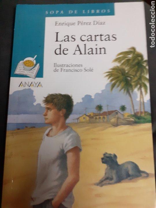 Libros de segunda mano: Libro núm. 66 LAS CARTAS DE ALAIN.- SOPA DE LIBROS - Foto 2 - 182831035