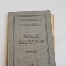 Libros de segunda mano: LIBRO CIENCIAS FISICO NATURALES. Lote 182842260