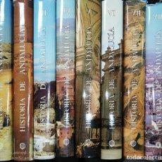 Libros de segunda mano: HISTORIA DE ANDALUCIA. OBRA COMPLETA. 8 TOMOS. CUPSA EDITORIAL. EDITORIAL PLANETA. 1980. LEER.. Lote 182843810