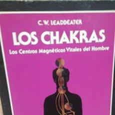 Libros de segunda mano: LEADBEATER. LOS CHAKRAS. Lote 182879578