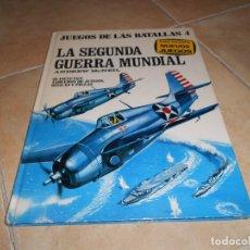 Libros de segunda mano: JUEGOS DE LAS BATALLAS 4; LA SEGUNDA GUERRA MUNDIAL DE ANDREW MCNEIL 1977. PLAZA Y JANES. Lote 182890102